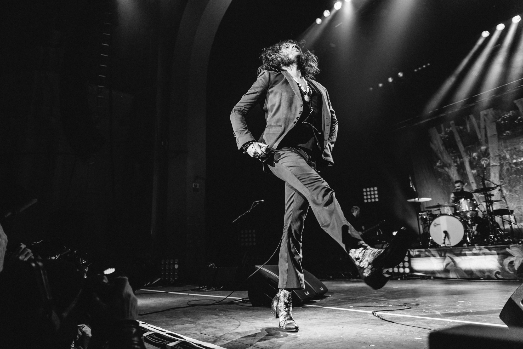 Music photographer in Leeds, Rival Sons at Brixton Academy